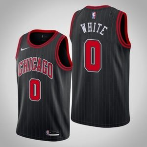 Chicago Bulls Coby White Swingman Jersey